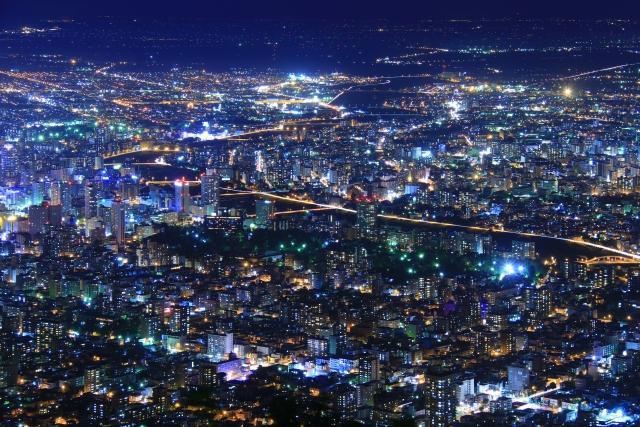 ( 札幌 賃貸 ネット無料 )札幌の街並み